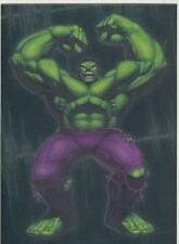 The Incredible Hulk [2003] Gamma Ray Chase Card #9