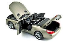 MERCEDES BENZ SL 500 500SL Roadster 2012 grey grau R231 NEW HQ Norev 1:18