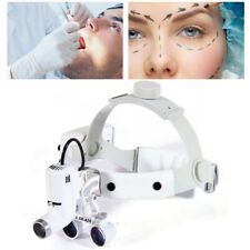 Medical Dental 35x 420mm Headband Binocular Loupes Magnifier 5w Led Headlight