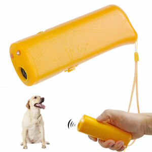 Ultrasonic Anti Bark Stop Barking Dog Training Repeller Control Trainer with LED