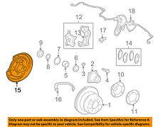 TOYOTA OEM Rear Brake-Backing Plate Splash Dust Shield 4650360221