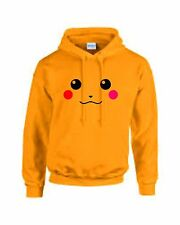 PIKACHU Pokemon Yellow Adult Children unisex Funny TV cartoon Hoodie sweatshirt