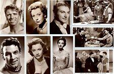 "PICTUREGOER ""D"" POSTCARDS film movie star actors & actresses, choose from list"