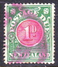 New Zealand 1902 Postage due as Scan 18026a