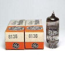 2x General Electric 8136 / MIL 6DK6 Röhre, Tube, NOS