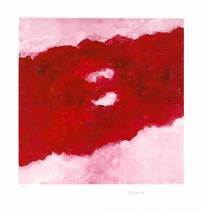 Armando - Rotes Bild - Auflage 25 handsigniert und nummeriert