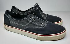 Men's Mossimo Comfort Casual Canvas Shoes Navy Blue/White/Red Size 12