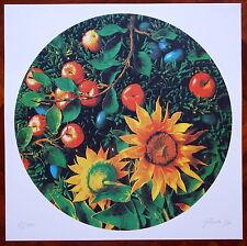 PIERO GILARDI litografia 1997 GIRASOLE  (ns rif.5)