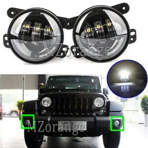 2x LED Fog Light Lamp For PT Cruiser Dodge Journey Jeep Wrangler Grand Cherokee