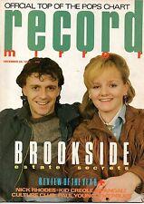 Record Mirror Magazine 29 December 1984     Stewart Copeland     Kid Creole