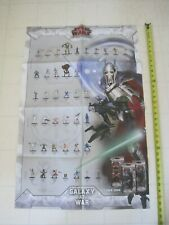 STAR WARS Minatures Double Sided Poster NH