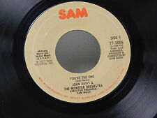 John Davis + Monster Orch. 45 YOU'RE THE ONE bw MAGIC IS YOU   Sam VG++