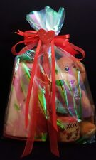 Women's Gift Set Basket Gifts for Her Girlfriend Wife Forever Rose Kiss Bear