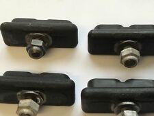 ORIGINAL 1980,S BLACK SKYWAY TUFF PADS FOR MAG BMX WHEELS RALEIGH BURNER OLD BMX