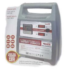 8 AMP Portable Heavy Duty Battery Charger 6V / 12V For Car Van Motorcycle Boat