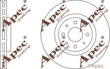 FRONT BRAKE DISCS (PAIR) FOR FIAT STILO MULTI GENUINE APEC DSK2324