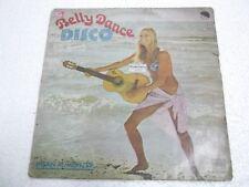 IHSAN AL MUNZER BELLY DANCE DISCO GROOVE BREAK LOOP FUNK MOOG  RARE LP INDIA G+