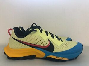 Nike Air Zoom Terra Kiger 7 Trail Limelight Laser Blue CW6062-300 Size 11.5