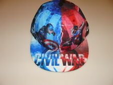 New Era Cap Hat Captain America Iron Man Civil War Marvel All Over 59FIfty 7 1/2