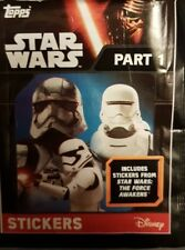 STAR WARS THE FORCE AWAKENS PT 1&2 X5O LOOSE STICKERS