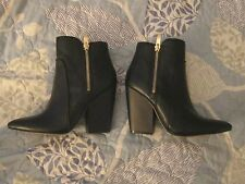 BCBGENERATION NEW Dawn Womens Dress Ankle Boot 5.5 Black