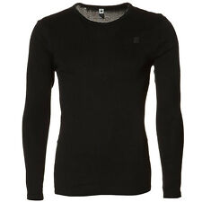 G-star Raw round-Neck base crew LS langarm-shirt schwarz D07204 124 990