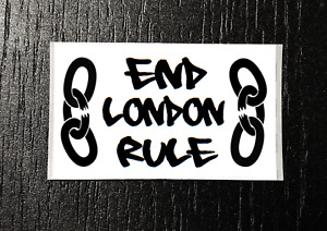 END LONDON RULE!! Sticker Packs (25-1000) - Independence, Lockdown, Tory,Liberty