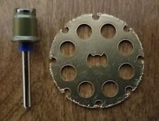 "NEW DREMEL EZ LOCK EZ402 MANDREL AND EZ544 1-1/2"" CARBIDE CUTTING WHEEL"