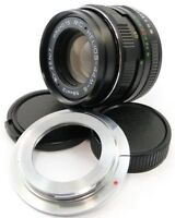 ⭐NEW⭐ MC HELIOS 44m-6 Lens + Adapt. Canon EOS EF Mount 6D 7D 5D Mark II III IV