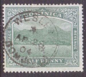"""DOMINICA   POSTMARK / CANCEL   """"WESLEY  DOMINICA""""  1904"""