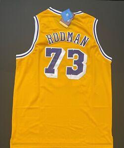 Dennis Rodman Signed Los Angeles Lakers Jersey  PSA AI83685