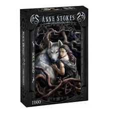 Anne Stokes - SOUL BOND - 1000 Piece Jigsaw Puzzle, Goth, Dark Fantasy, Wolves