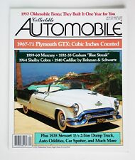 Collectible Automobile, 4/93, Oldsmobile, Graham Blue Streak, Shelby Cobra