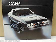 77, 1977 Mercury Capri Unused Dealer Brochure, Free US Ship ~