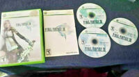 Final Fantasy XIII Microsoft Xbox 360 Complete CIB VG Discs Video Games Gaming