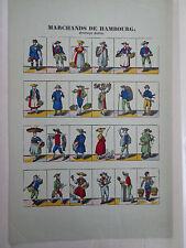 Vintage Imagerie Pellerin/Marchands de Hambourg print INV2278