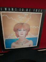 "Toyah – I Want To Be Free Vinyl 7"" P/S Single Safari Records SAFE 34 1981"