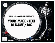 "1 Pair of Custom / Personalised 7"" Turntable Slipmats ( YOUR IMAGE / LOGO )"