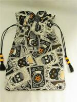 Mystic Theme Wicca Pagan Tarot Card Drawstring Mojo Bag Pouch ~ FREE SHIP