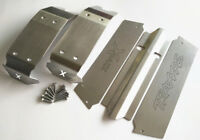 Stainless Steel Chassis Skid Plate Full Protect Type For Traxxas X-MAXX 6S & 8S