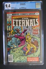 ETERNALS #8 vs REJECTS 1st KARKAS & RANSAK 1977 Deviants Thena Sersi Kro CGC 9.4