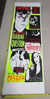 2003 Rock Concert Poster The Dwarves Burning Question Lindsey Kuhn S/N Flo Green