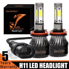 H11 4-Sided Led Headlight 6000K 2000W 225000Lm Kit High or Low Beam Super Bright (Fits: Subaru)