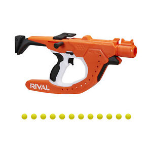 Nerf Rival Curve Shot Sideswipe XXI-1200 Blaster and 12 Nerf Rival Rounds