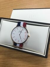 Daniel Wellington Men's Quartz Watch Classic Cambridge 0103DW with Nylon Strap