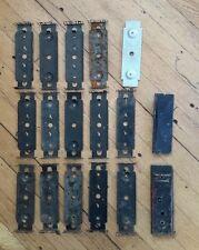 Lot of Lionel O27 Gauge Metal Bottoms Train Car Base Plates Post War Demolition