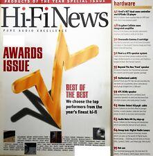 Hi-Fi news Awards + ARCAM CD72 Krell GRYPHON ATC SCM7 ARCAM DT81 Cymbol C-DAB 1