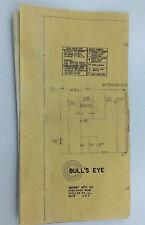 Midway Bull's Eye Blueprint Wiring Diagram arcade