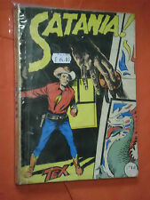 collana TEX GIGANTE LIRE 250 di COPERTINA N°5 -satania  NO SPILLATO