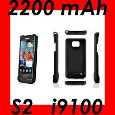 ★★★ 2200mAh Coque BATTERIE Intégrée ★ Pour SAMSUNG GALAXY S2  i9100 .Ultra Slim